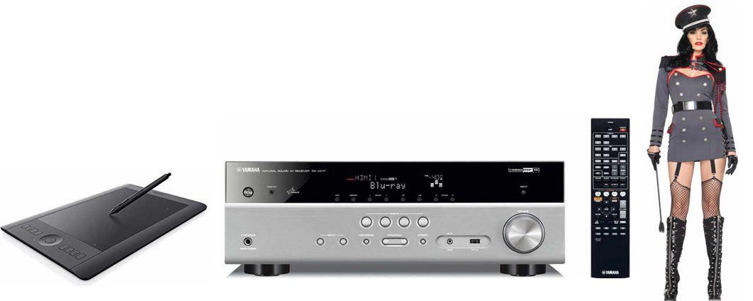 Yamaha RX V477   5.1 AV Receiver für 269€   bei den 33 Amazon Blitzangeboten ab 18Uhr