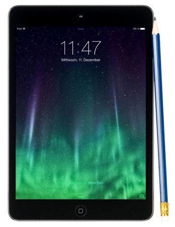 Apple iPad mini 2 (ME856FD/A)   WLAN, 128GB, Spacegrau für 429€