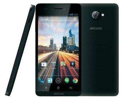 Archos 50 Helium   5 Zoll Smartphone (1,2 GHz, 8GB, LTE) ab 122,45€