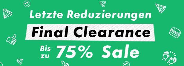 Asos mit Mega Sale   Rabatte bis zu 75% z.B. Jacken ab 21,43€ oder Hosen ab 8,57€   Update!
