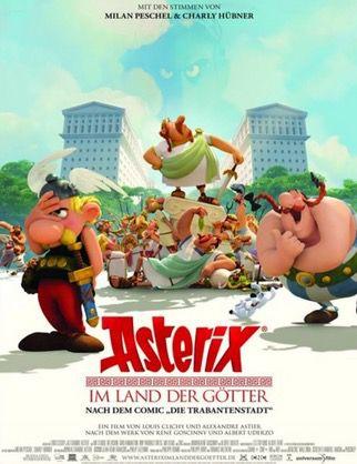Asterix im Land der Götter Ab Samstag 10 Uhr: 2 Tickets für Asterix im Land der Götter 3D für 1,50€
