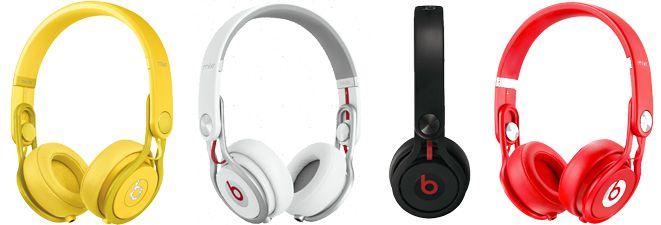 Beats By Dre Mixr für 100€ On Ear Kopfhörer in verschiedenen Farben schnaeppchenfuchs Beats by Dr. Dre Mixr On Ear Kopfhörer für 100€