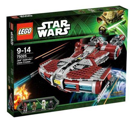 Lego Star Wars Jedi Defender Class Cruiser für 85,49€ (statt 119€)