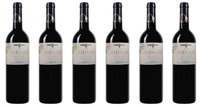 6 Flaschen Bodegas Olarra   Ondarre   Rioja DOCa Reserva Rotwein für 27,44€