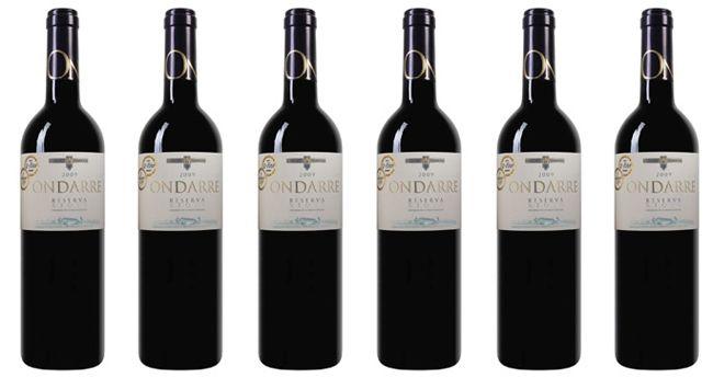 Bodegas Olarra Ondarre 6 Flaschen Bodegas Olarra   Ondarre   Rioja DOCa Reserva Rotwein für 27,44€