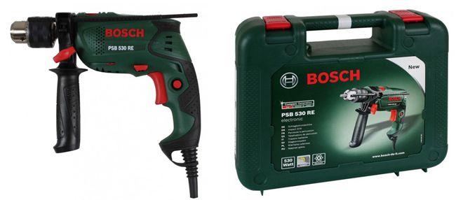 Bosch PSB 530 RE  Bosch PSB 530 RE Schlagbohrmaschine für 39,90€