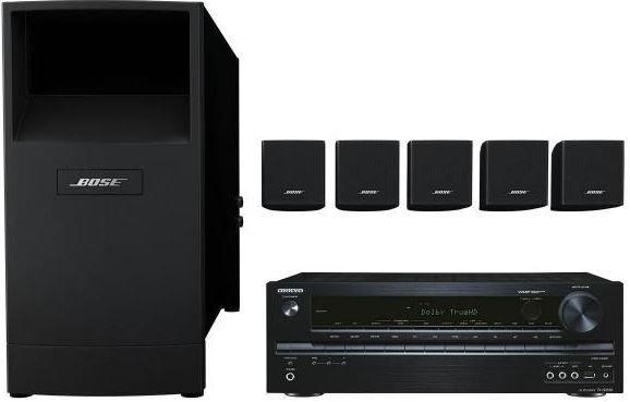 Bose Onkyo TX NR535 Netzwerkreceiver + Bose Acoustimass 6 Heimkinolautsprecher statt 931€ für 699€ beim Cyberport Weekend Deal