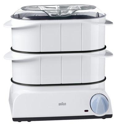 Braun FS 20 Multi Gourmet Dampfgarer mit 3,1 L Fassungsvermögen für 29,99€