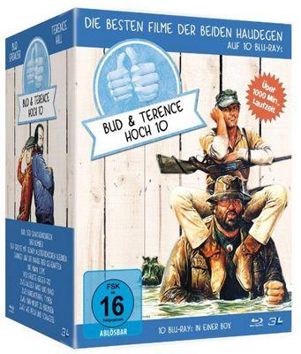 Bud Spencer Terence Hill Bud Spencer & Terence Hill   Jubiläums Collection Box (Blu ray) für 54,90€