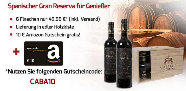 6er Kiste Gran Reserva mit Goldauszeichnung für 39,95€    Update