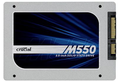 Reduzierte Crucial M550 SSD Festplatten im Crucial Shop   z.B. Crucial M550 128GB statt 65€ für 48€