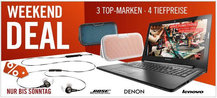Cyberweekend Denon Envaya portabler Bluetooth Lautsprecher ab 119€ und mehr Cyberport Weekend Deals   Update