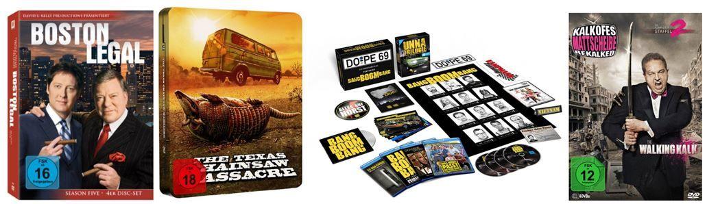 2 TV Serien für 20€ und mehr Amazon DVD oder Blu ray Angebote