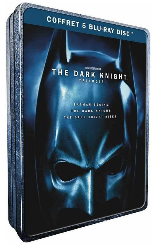 Batman   The Dark Knight Trilogy [Blu ray] Steelbook für 15,93€   Update
