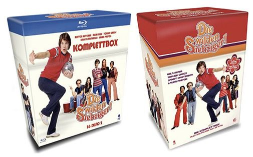 Die wilden Siebziger Komplettbox auf Blu ray für 54,97€ oder DVD für 29,97€