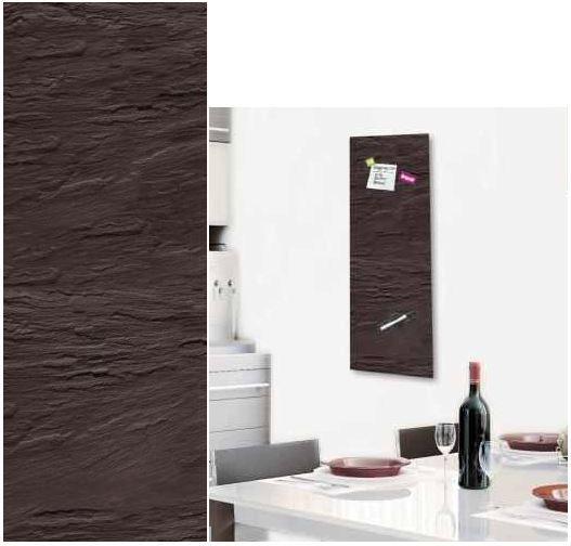 EUROGRAPHICS Black Slate    30x80 cm Glas Info  u. Magnettafel für 29,99€