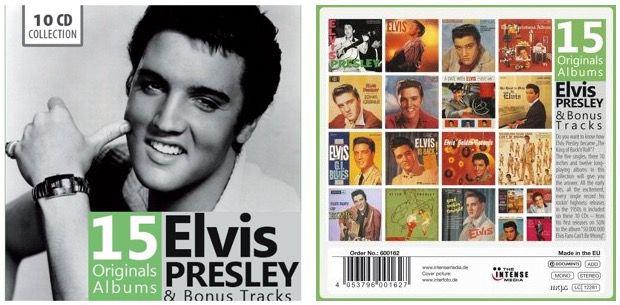 Elvis Presley Box   15 Alben + Bonus Tracks für 9,99€