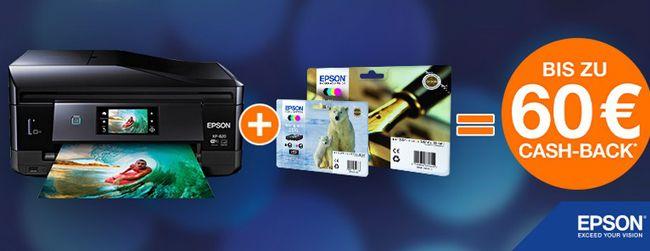 Epson Cashback Epson WorkForce WF 2660DWF   4 in 1 Multifunktionsdrucker mit WLAN für 69€ dank 30€ Cashback