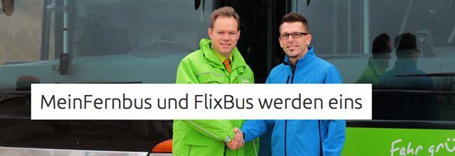 Flixbus Flixbus und MeinFernbus Fusion   166.500 Tickets für je 11€   Update: ADAC Postbus Konter!