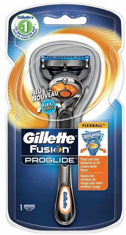 Gillette Fusion ProShield   Herren Rasierer + Klingen mit 7€ Rabatt ab 24€ MBW