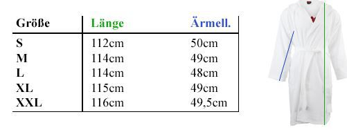 Grösse AC/DC oder Rolling Stone Bademantel für je 39,99€