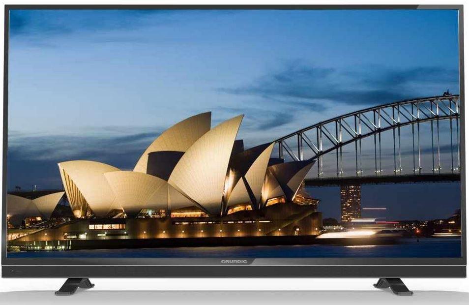 Grundig 55 VLE 822 BL   55 Zoll 3D Smart TV mit Triple Tuner für 345,28€   Zustand Sehr gut