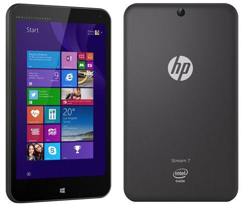 HP Stream 7 5700ng   7 Zoll Tablet (1,33 GHz, 1GB Ram, 32GB Speicher, Windows 8.1) für 79€