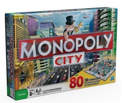 Hasbro Monopoly City statt 58€ für 27,94€