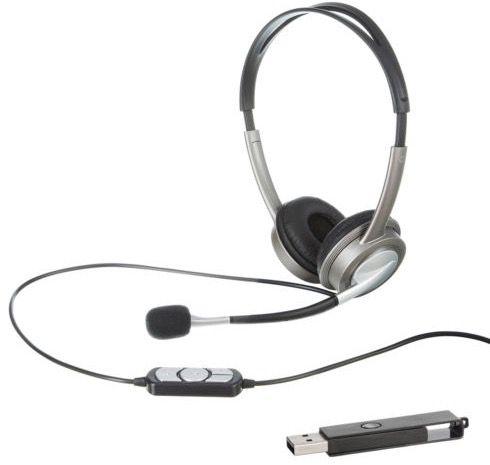 On Ear Headset mit USB Anschluss + 4GB USB Stick für 9,99€