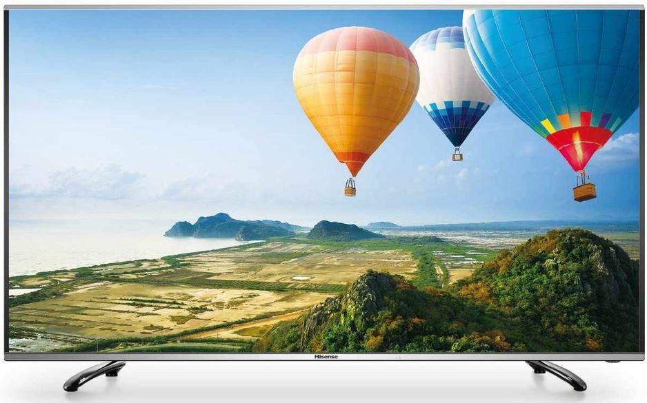 Hisense Hisense LTDN55K390XWSEU   55 Zoll 3D TV mit Triple Tuner und PVR Ready für 529€