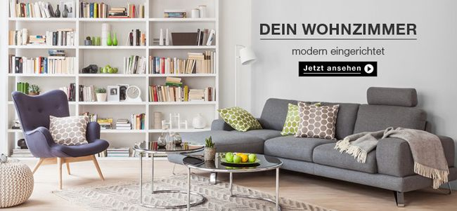14% Rabatt ab 395€ oder 15% Rabatt ab 495€ bei Home24