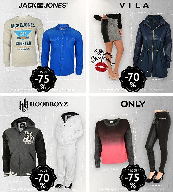 Hoodboyz Sale Jack & Jones Sweatshirt ab 19,96€ im neuen Hoodboyz Fashion Sale mit 85% Rabatt   Update