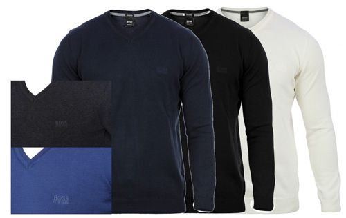 Hugo Boss Pullover klassisch in verschiedenen Farben für je 49,90€