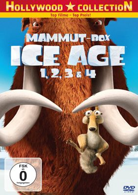 Ice Age Mammut Box   Teil 1 4 auf DVD für 11€