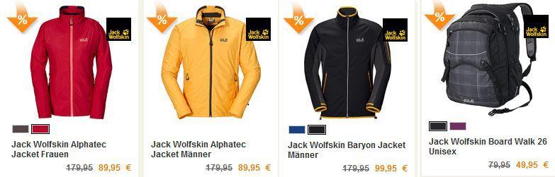 Jack Wolfskin Alphatec Herren Jacke für 89,95€ statt 153€ im Jack Wolfskin SALE mit bis zu 50% Rabatt   Update!