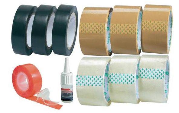Klebe und Verpackungsbänder Klebe  und Verpackungsbänder 11 teilig für 9,99€