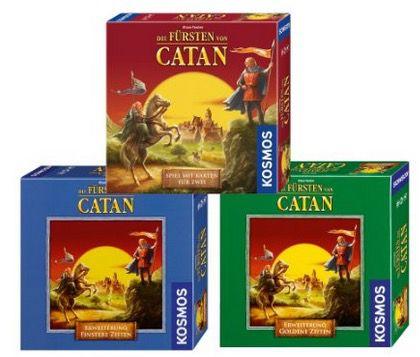 Kosmos Die Fürsten von Catan Kosmos Die Fürsten von Catan + 2 Erweiterungen Finstere Zeiten und Goldene Zeiten ab 20,94€
