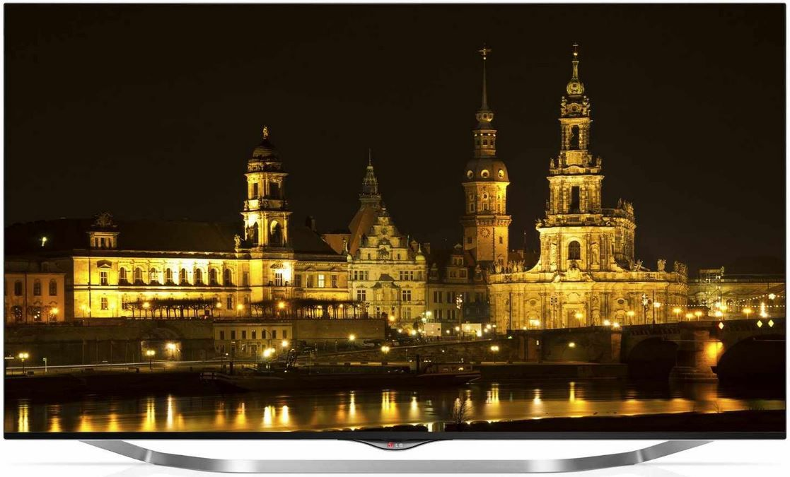 LG 49UB856V   49 Zoll UHD 3D Dual Play Smart TV mit triple Tuner für 899,99€