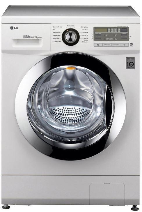 LG Waschmaschine LG F 1296 NDA    6KG Waschmaschine mit A+++ statt 495€ für 399€