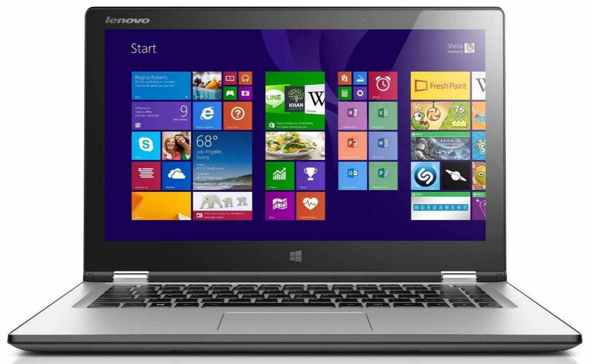 Lenovo1 Lenovo Yoga 2 13   13Zoll Convertible Touchscreen Ultrabook mit i3 für 599€   Update