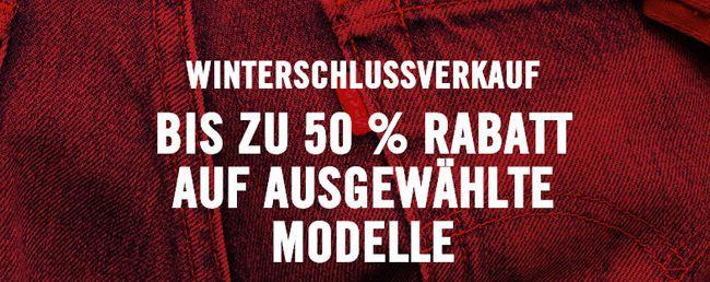 Bis zu 50% Rabatt im Levis Winterschlussverkauf + 20% Extra Rabatt + kostenloser Versand   Update