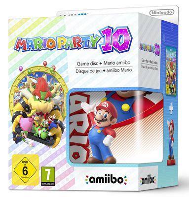 Mario Party 10 Wii U + Mario amiibo für 37€