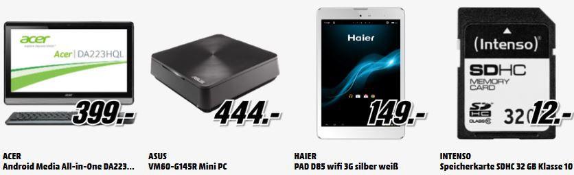 HTC One Mini 2 Gold für 249€   und mehr gute MediaMarkt Angebote: Alles Muss Raus