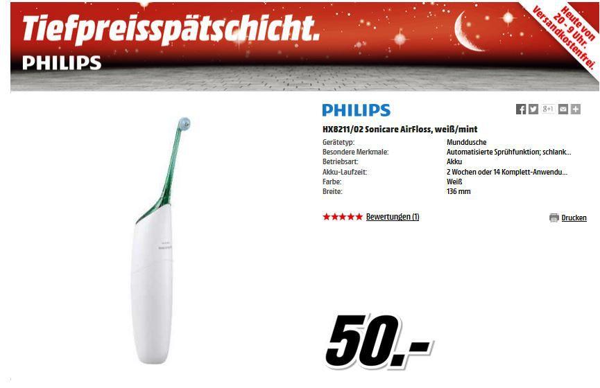 PHILIPS HX8211/02 Sonicare AirFloss für nur 50€