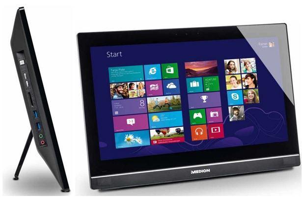 MEDION AKOYA P2029   ALL IN ONE PC mit matten 20 Zoll Display für 249€