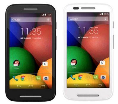 Motorola Moto E   4,3 Zoll Smartphone (1,2 GHz, 1GB Ram, 4GB, 5 MP Kamera) für 83,33€