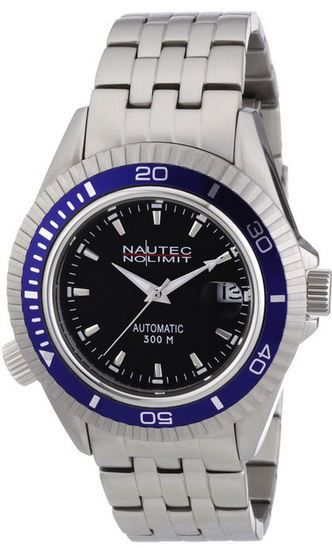 Nautec Nautec No Limit Shore SH AT/STSTBLBK   Herren Armbanduhr für 55€