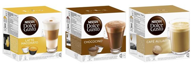 Nescafé Dolce Gusto Kapseln im 3er Pack ab 11,37€   Update!