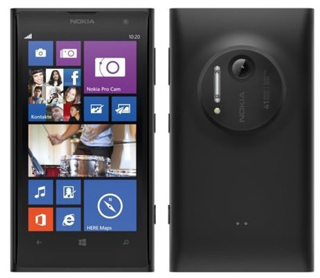 Nokia Lumia 1020   4,5 Zoll LTE Windows Phone (1,5 GHz, 2GB Ram, 32GB) für 249€
