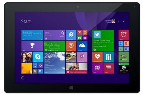 Odys Wintab 10 Odys Wintab 10 – 10 Zoll Windows 8.1 Tablet mit 32 GB für nur 139€